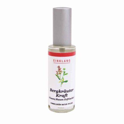 Bergkräuter Kraftspray - Ruhespray – Kissenspray – Raumspray – 30ml