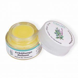Balsam Erkältungsbalsam 30ml mit Bienenwachs, Jojoba und feinsten ätherischen Ölen