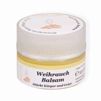 Balsam Weihrauchbalsam mit echtem ätherischem Weihrauchöl. Reich an Vitamin E.