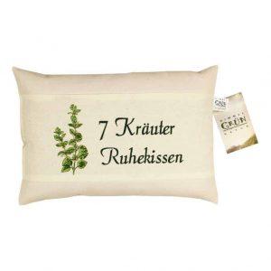 7 Kräuter Ruhe Kissen Set