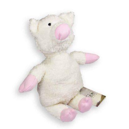 Kuscheltier Rosalinde das Glücksschwein