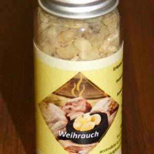"""Weihrauch in Glasphiole """"Zirbe"""""""