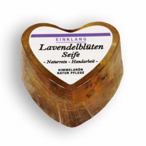 Lavendelblüten Seife – Herzform