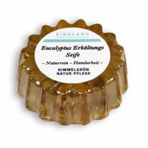 Eukalyptus Erkältungsseife – Blumenform