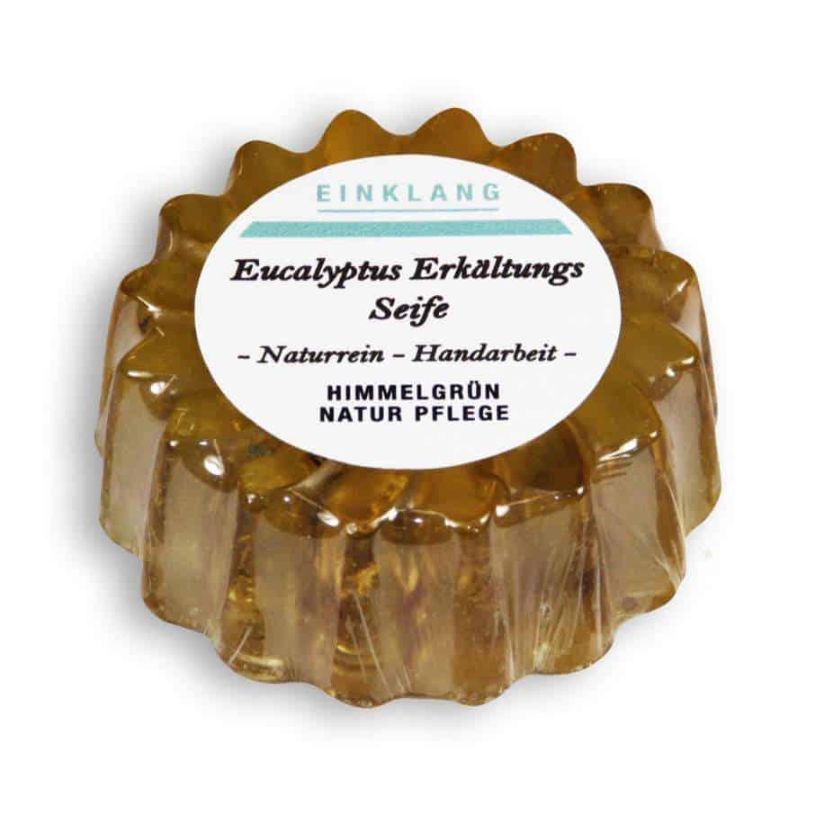 Eukalyptus Erkältungs Seife – Blumenform
