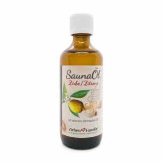 Saunaöl Zirbe/Zitrone im 100ml Fläschchen für die Sauna